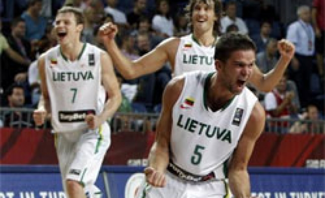 Lithuania qualifies for semi-finals at basketball worlds in Turkey