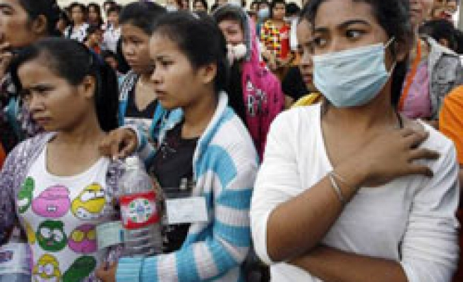 Western brands accused of sinking Cambodian workers in low wages