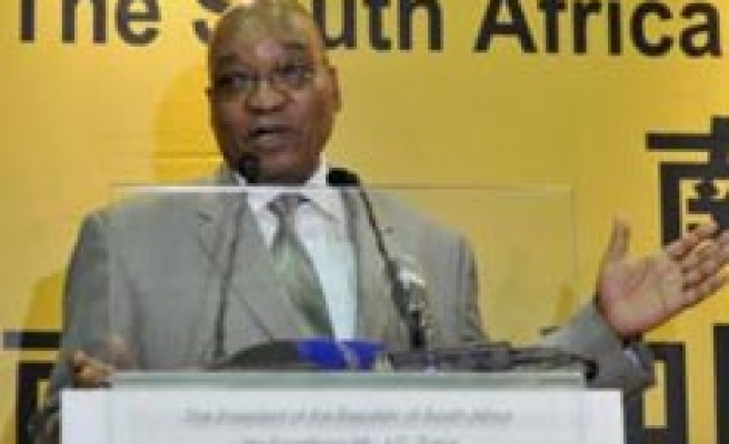 S. Africa's Zuma faces challenge on economy policy in ANC meting