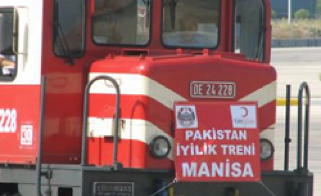 Turkish foundation sends aid train to flood-hit Pakistan