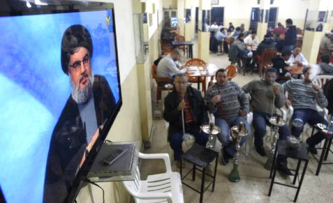 Hezbollah leader defends Syria intervention