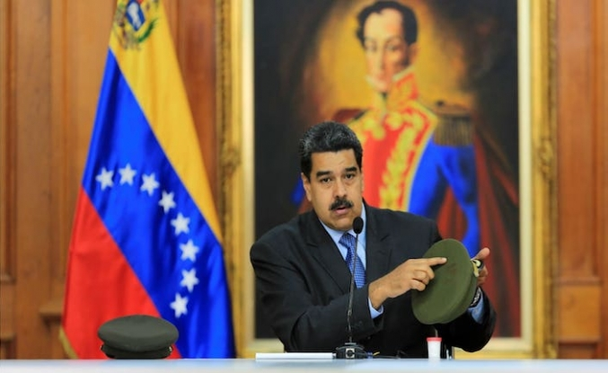 Maduro praises Turkish culture, history at Caracas fair