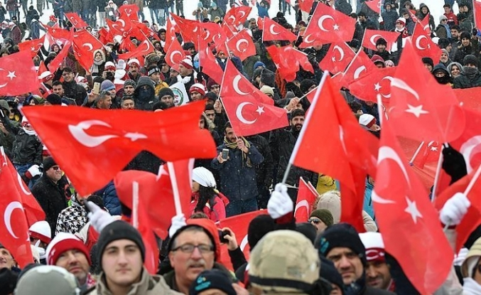 Turkey remembers fallen WWI soldiers with massive march