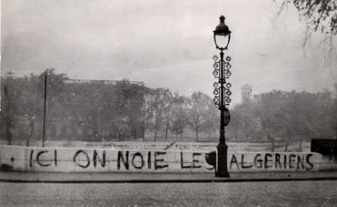French colonialism's massacre in Paris
