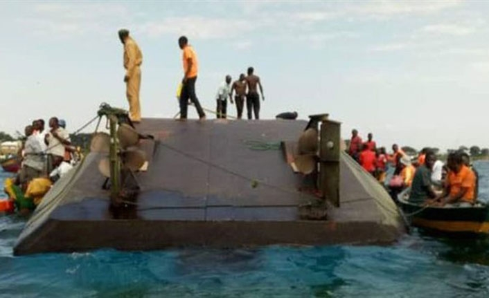 Ferry capsized in Tanzania causing at least 86 victims