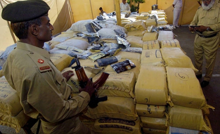 Hashish worth millions of dollars seized in Pakistan