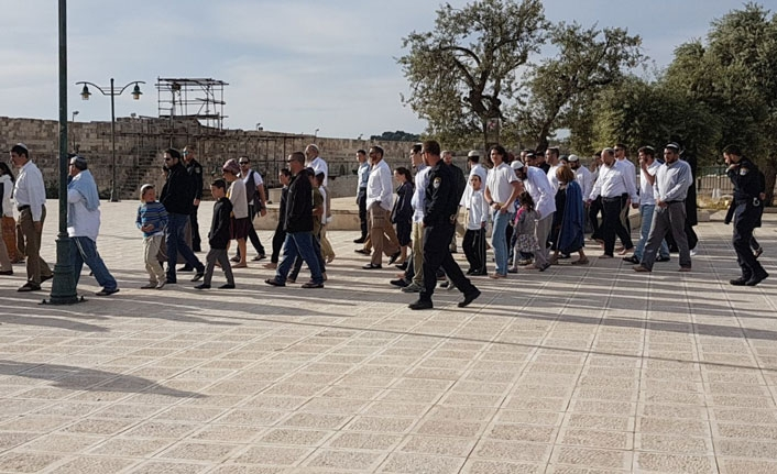 Over 380 settlers and police officers storm Al-Aqsa Mosque