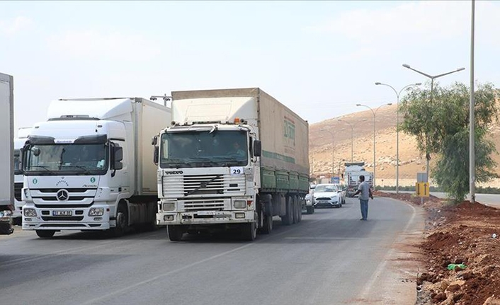 UN sends 30 trucks of humanitarian aid to Syria's Idlib