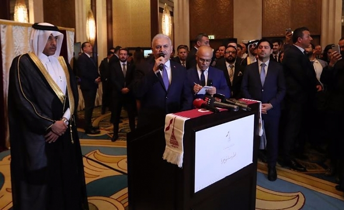 Turkish parliament leader hails strong ties with Qatar