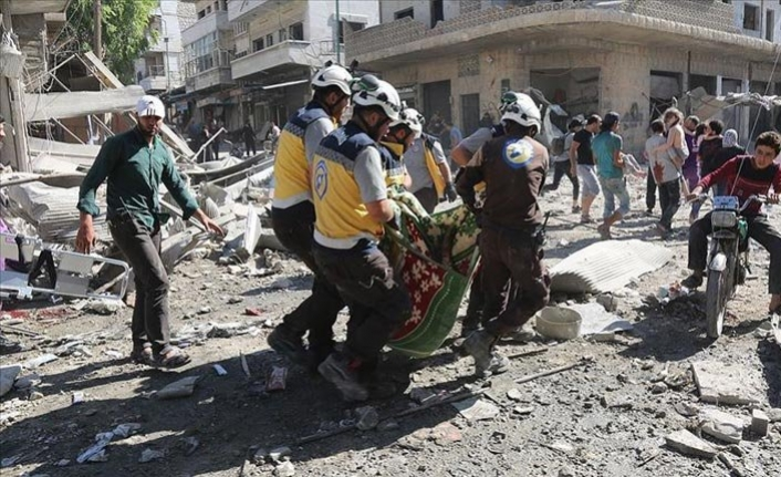 Syria: Russian airstrike on Idlib market kills 17