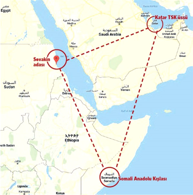 Sudan\'s Suakin reveal the location for Turkish military base ...