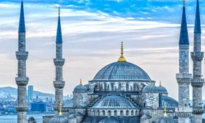 The beauty of Blue Mosque