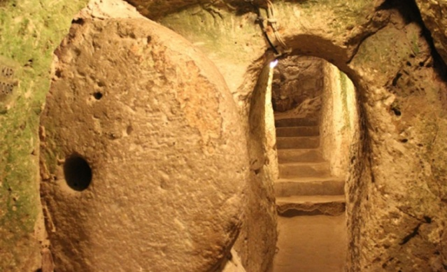 It is also riddled with extensive subterranean dwellings and secret tunnel passages that various people utilized for shelter across the centuries.