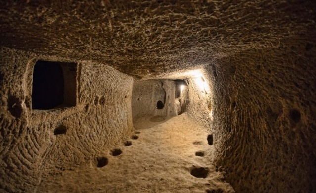 These troglodyte cave-cities were excavated as early as Hittite times, and expanded over the centuries as various marauding armies traversed Central Anatolia in search of captives and plunder.