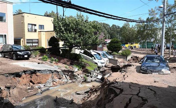 9 dead, 300 injured in 6.7 earthquake in Japan's north
