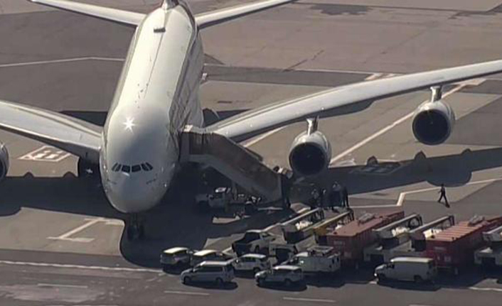 UAE plane carrying sick passengers lands at NY airport