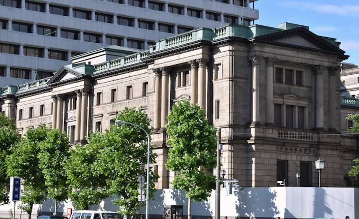 Bank of Japan lowers inflation forecasts again