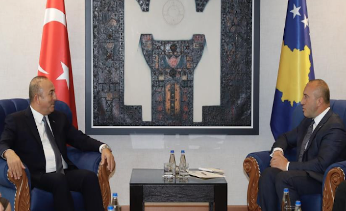 Turkish foreign minister meets top Kosovo officials