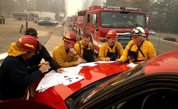 Death toll in California wildfires rises to 44