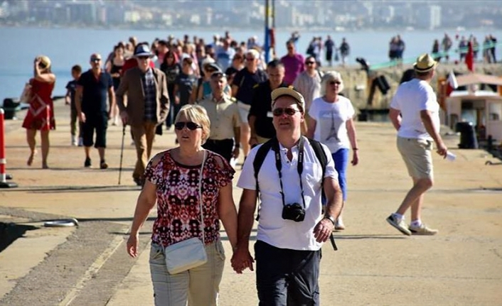 Nearly 35.6 million foreigners visit Turkey in Jan-Oct