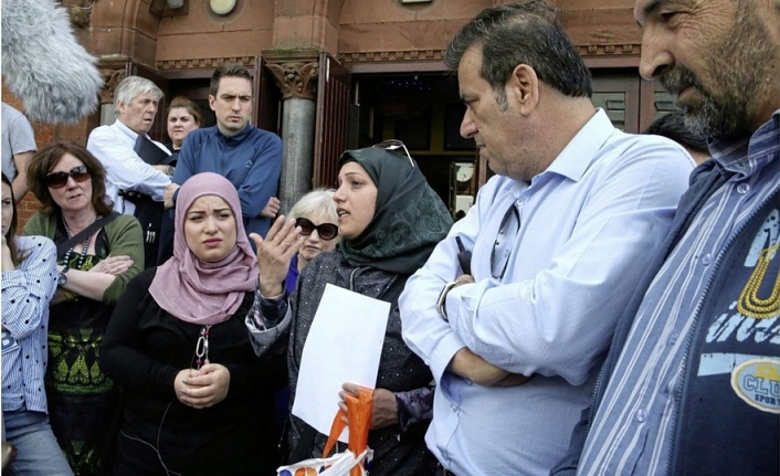 Syrian refugee family under racist attack in UK