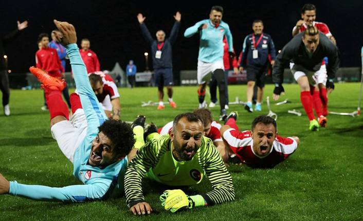 Turkey comes second at Amputee Football World Cup