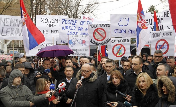 Belgrade accuses Kosovo of trying to 'drive out' Serbs
