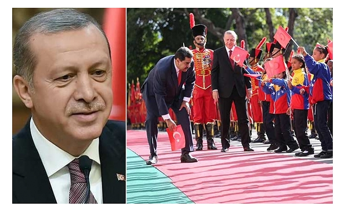 Erdogan: Unforgettable courtesy by Maduro