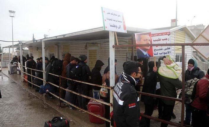 Over 40,000 Syrians return home from Turkey in 2018