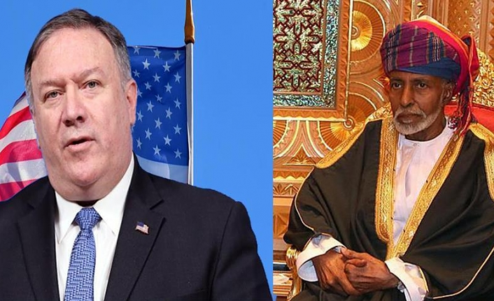 US secretary of state meets with Omani sultan in Muscat
