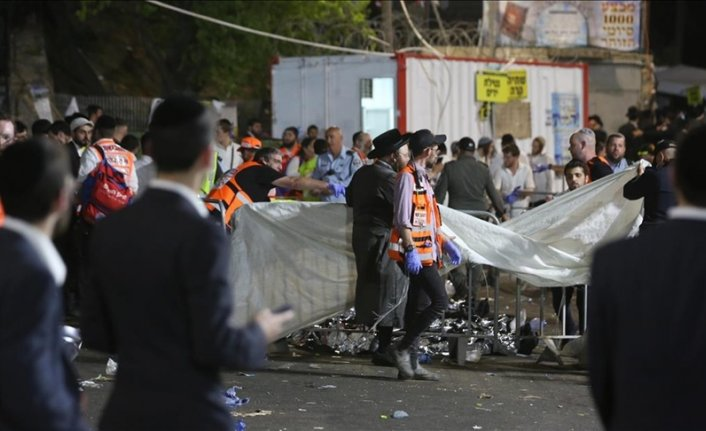 44 people killed in stampede at religious festival in Israel