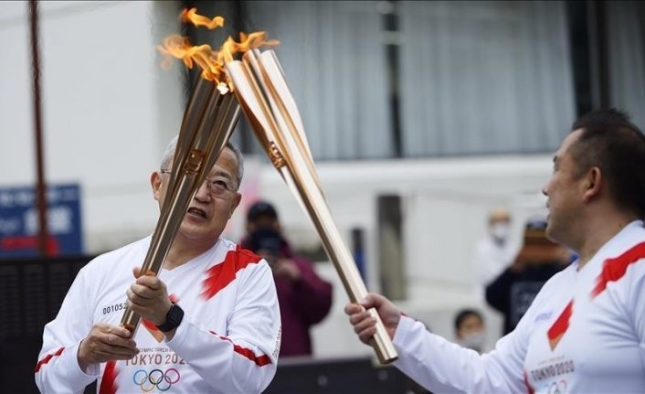 Japan: 1st Olympic torch relay virus case reported