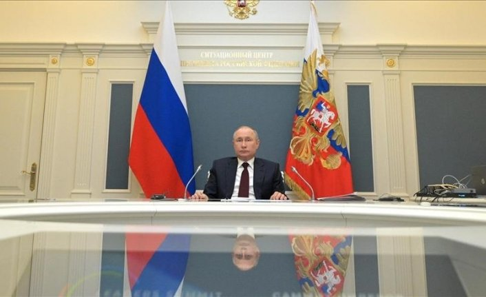Putin says open to meeting Ukrainian leader 'any time'