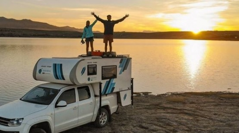 Argentina to Alaska: Couple's plan for world travel
