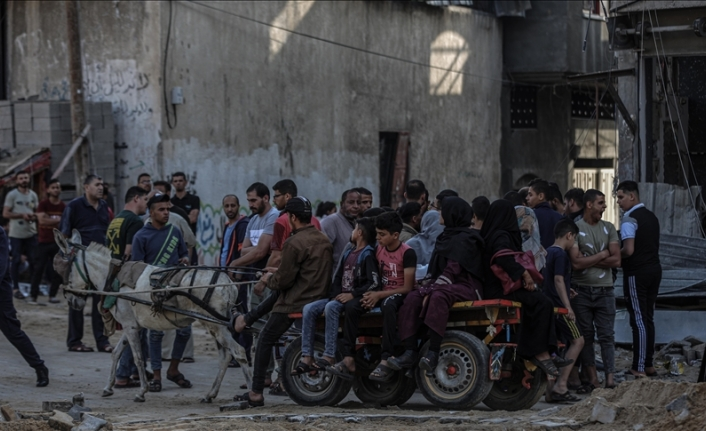 At least 75,000 Palestinians displaced due to Israeli attacks: UN