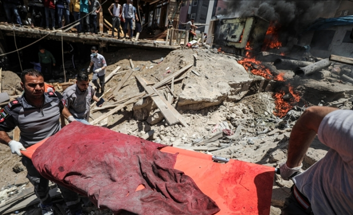 Death toll from Israeli attacks on Gaza Strip rises to 213