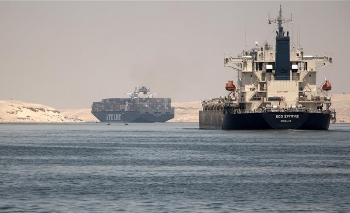 Egypt says another stranded ship in Suez Canal successfully re-floated