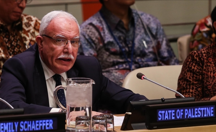 Palestinian FM to UN: Israel seeking to 'sow the seeds of terror'