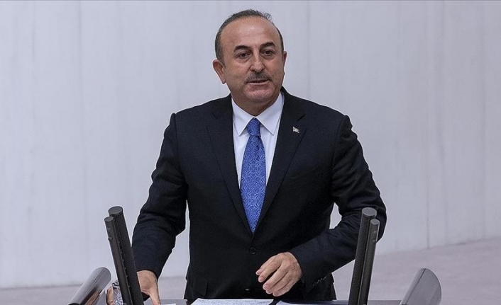 Turkey never to stop backing Palestine: Foreign minister