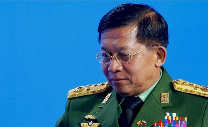 Myanmar's military chief accuses West of interference