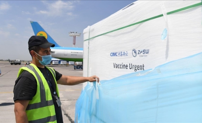 Uzbekistan receives 2M more COVID-19 vaccine jabs from China