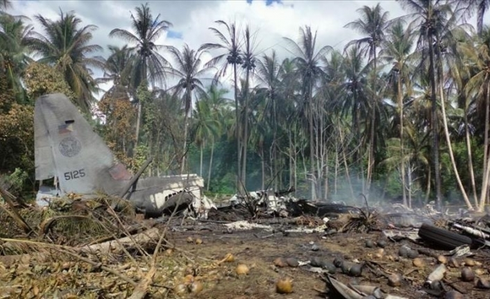 Death toll from Philippine military plane crash rises to 50