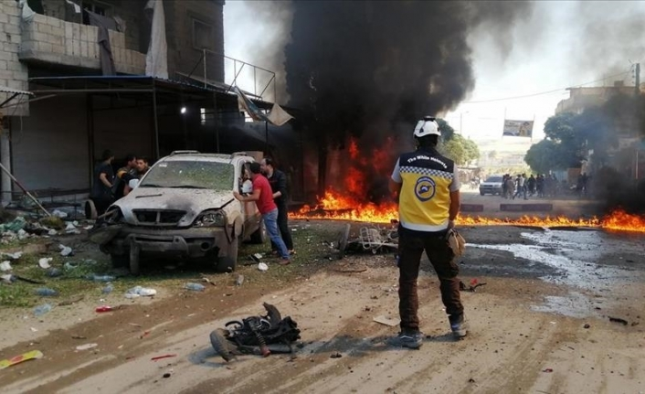 1 killed, 15 injured in twin blasts in northern Syria
