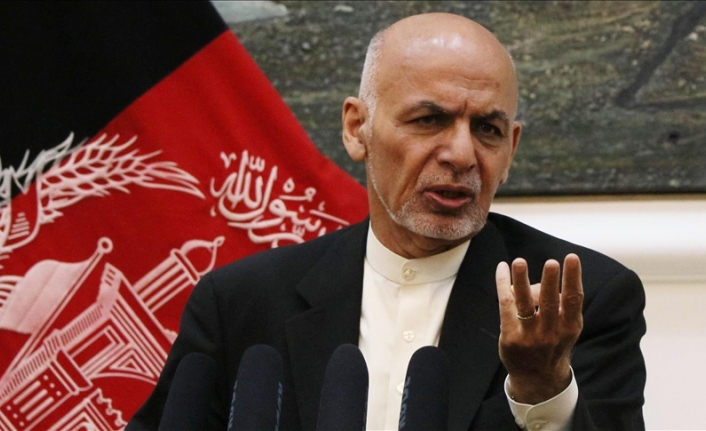 Former Afghan president denies fleeing country with millions of dollars