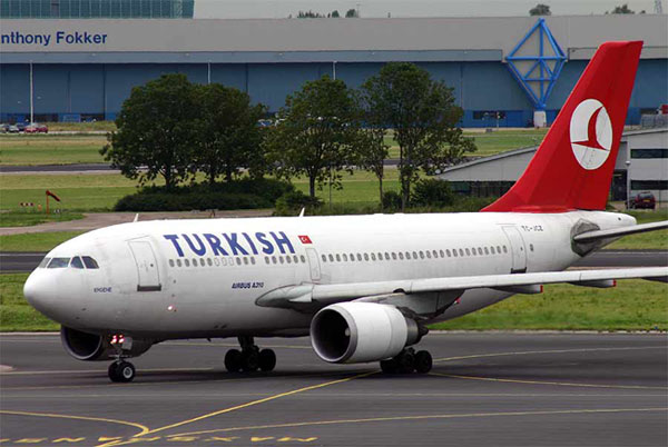 Turkish Airlines plane diverted after bomb threat