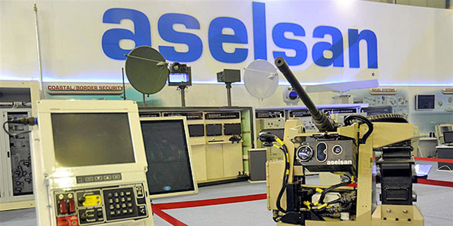 Turkey's Aselsan ranks up among largest defense firms