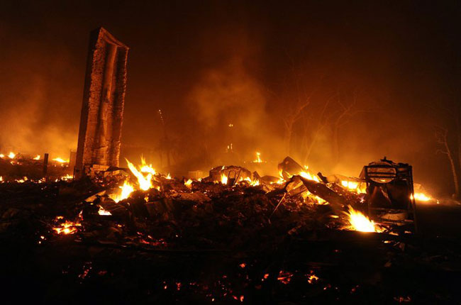 California wildfires rage across state