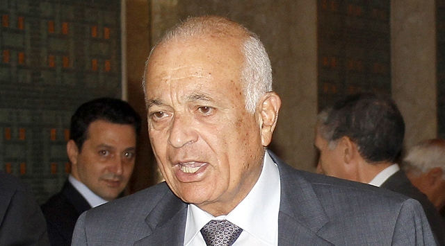 Arab League chief in Syria for talks with Assad
