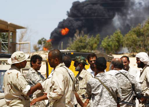 Two killed as Libyan forces, militants clash in Benghazi