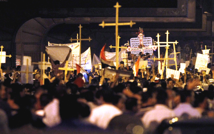 Copts reject 'US-Europe interference' in Egypt's affairs